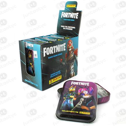 TIN BOX POCKET FORTNITE BLACK FRAME