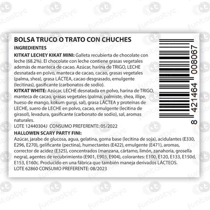 BOLSA TRUCO O TRATO CON CHUCHES