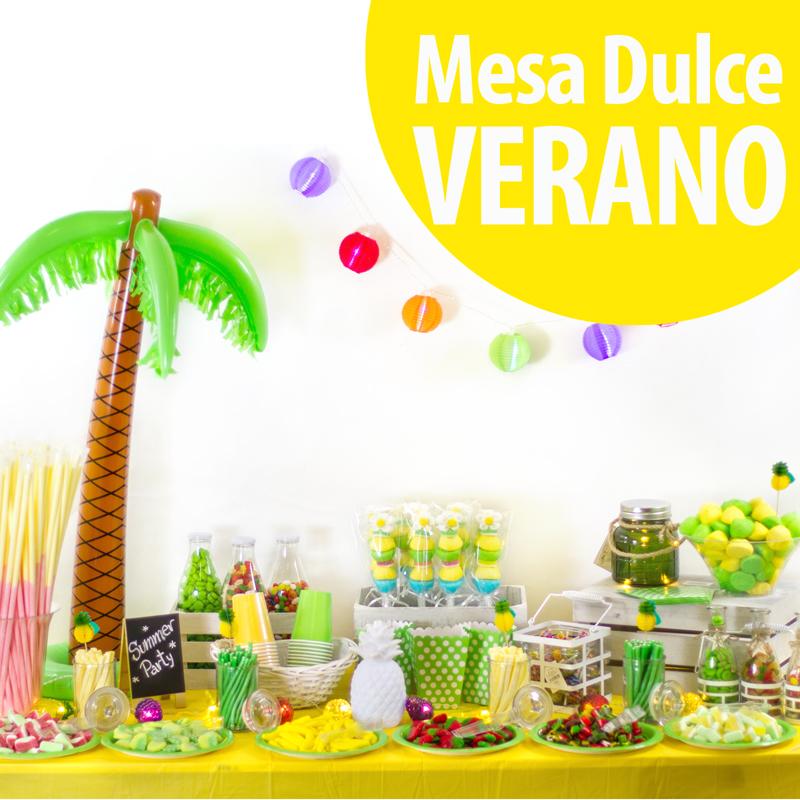 Mesa dulce de verano