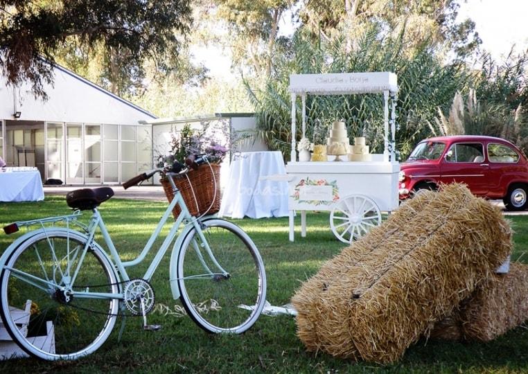 carrito de chuches para bodas
