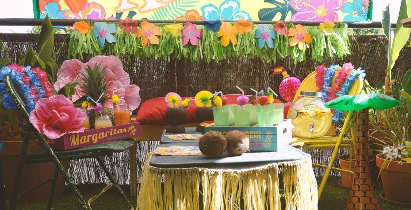 ideas fiestas hawaianas