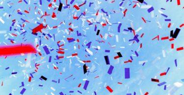 Confeti para fiestas