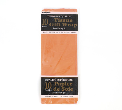 PAPEL DE SEDA COLOR NARANJA