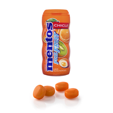 CHICLES MENTOS GUM TROPICAL