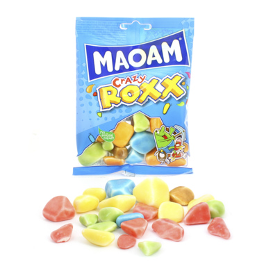 MAOAM CRAZY ROXX CARAMELOS MASTICABLES