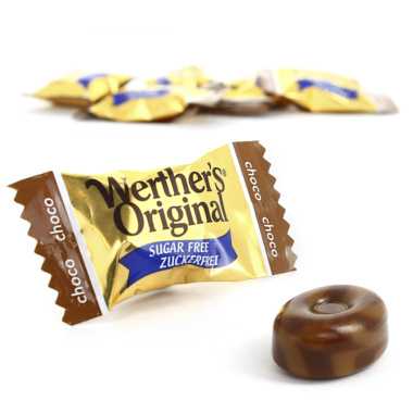 WERTHERS ORIGINAL CHOCOLATE SIN AZUCAR