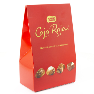 CHOCOLATE BOMBONES C.ROJA NESTLE 100 GR