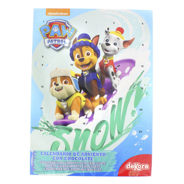 CALENDARIO ADVIENTO PATRULLA SNOW