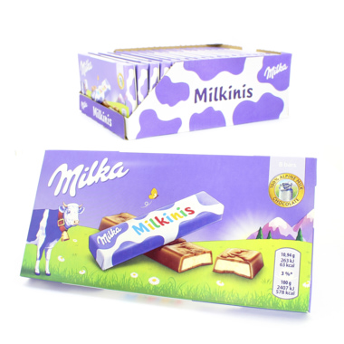 CHOCOLATE MILKA MILKINIS