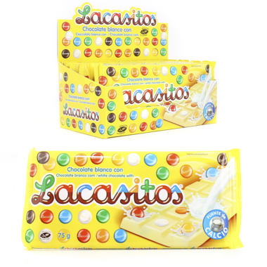 TABLETA LACASITOS CHOCO BLANCO