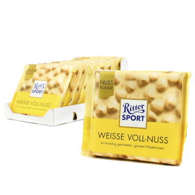 RITTER SPORT AVELLANA Y CHOCOLATE BLANCO