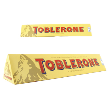 CHOCOLATINA TOBLERONE CHOCOLATE LECHE