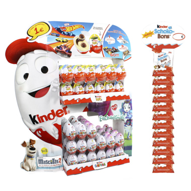 EXPOSITOR CHOCOLATINAS KINDER