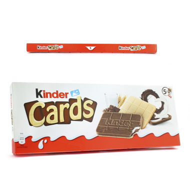 GALLETAS KINDER CARDS