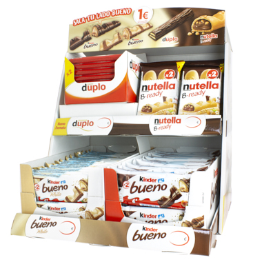 KINDER BUENO+WHITE+NUTELLA+DUPLO