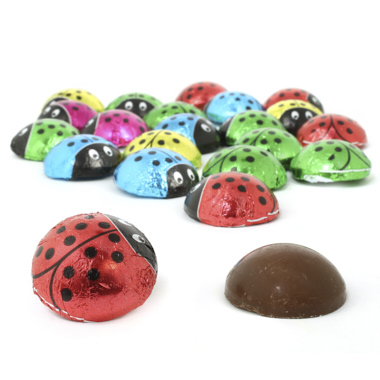 LADYBUGS CHOCOLATE CON LECHE