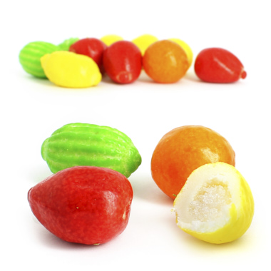 MACEDONIA CHICLE FRUTAS SURTIDAS FINI