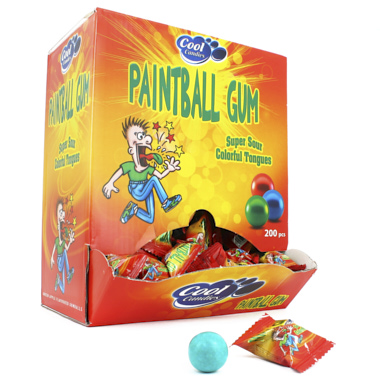 CHICLES  PAINTBALL GUM