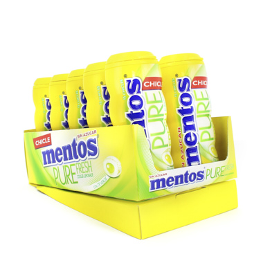 CHICLES MENTOS GUM LIMONADA