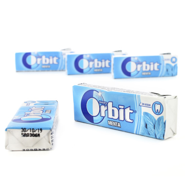 CHICLES ORBIT GRAGEA MENTA