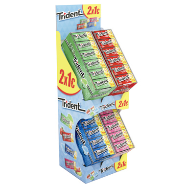 PACK TRIDENT 2X1