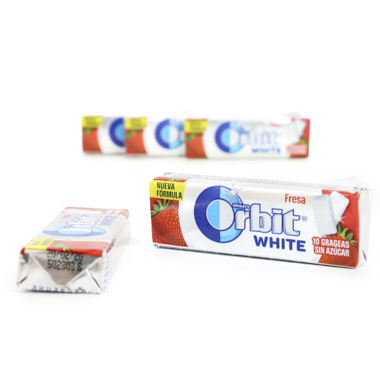 ORBIT GRAGEA WHITE FRESA