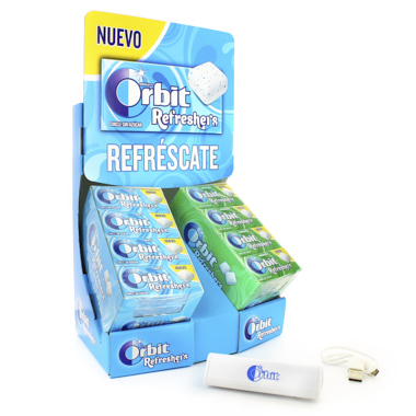 LOTE ORBIT REFRESHERS + BATERIA PORTATIL