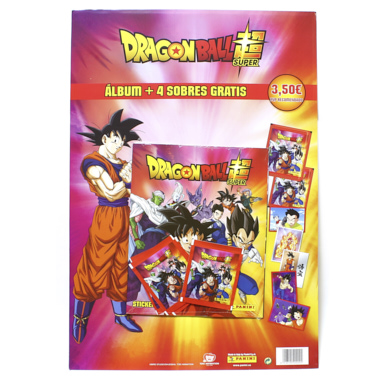 CARTON PANINI DRAGON BALL SUPER