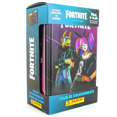 TIN BOX FORTNITE BLACK FRAME SERIES
