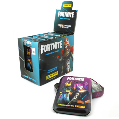 TIN BOX POCKET FORTNITE BLACK FRAME