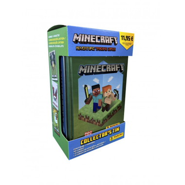 TIN BOX MINECRAFT PANINI