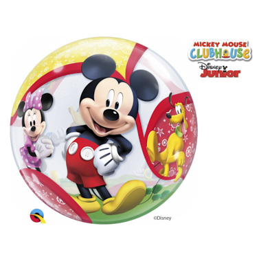 GLOBO BUBBLE SENCILLO MICKEY Y AMIGOS