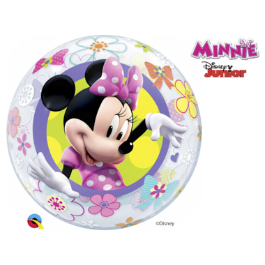GLOBO BUBBLE SENCILLO MINNEY BOW-TIQUE