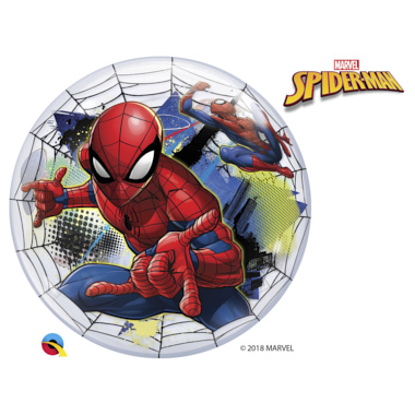 GLOBO BUBBLE SENCILLO SPIDERMAN