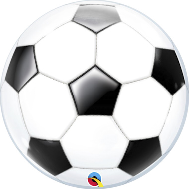 GLOBO BUBBLE SENCILLO BALON FUTBOL