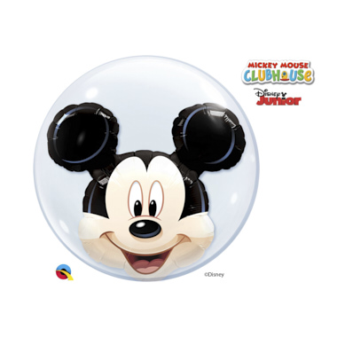 GLOBO BUBBLE DOBLE MICKEY