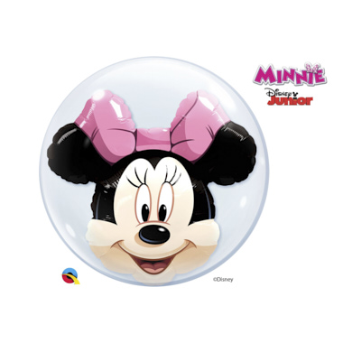 GLOBO BUBBLE DOBLE MINNIE
