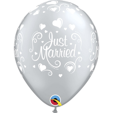 GLOBO JUST MARRIED PLATA