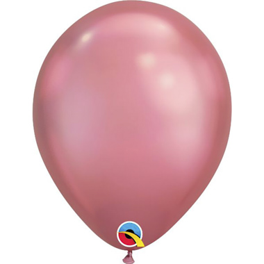 GLOBOS ROSADOS CHROME