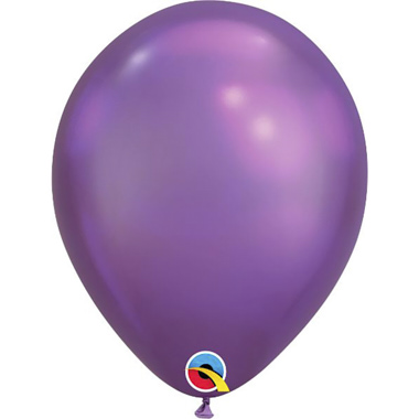 GLOBOS PURPURA CHROME
