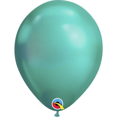 GLOBOS VERDE CHROME
