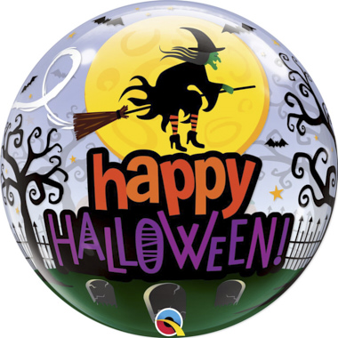GLOBO BUBBLE TRANSPARENTE HALLOWEEN