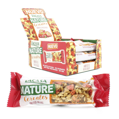 BARRITAS LACASA NATURE FRUTOS ROJOS