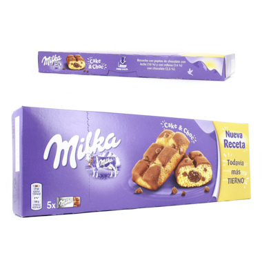 MILKA CAKE AND CHOC 175 GR