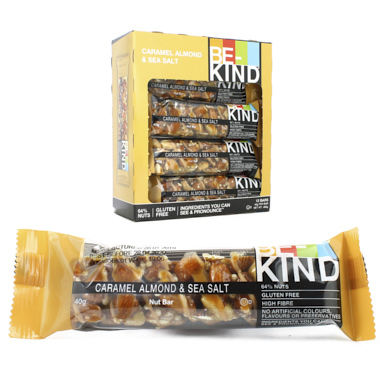 BARRITAS BE KIND CARAMEL ALMOND SEA SALT