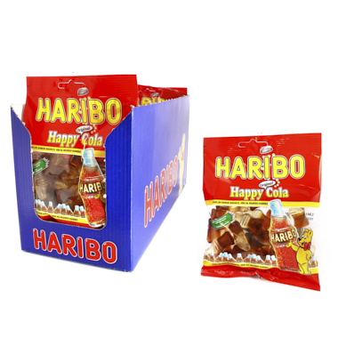 GOMAS HARIBO HAPPY COLA 100 GRAMOS
