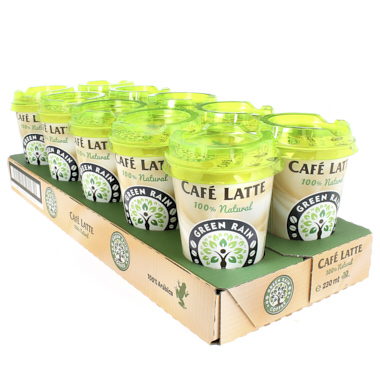 GREEN RAIN CAFE LATTE