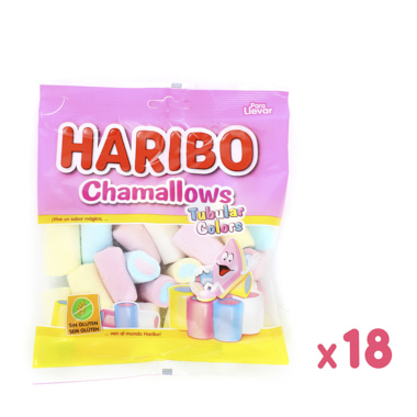 CHAMALLOWS TUBULAR COLORS HARIBO