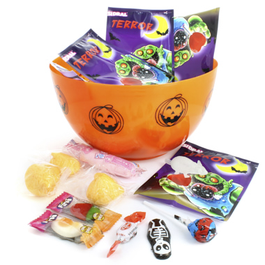 BOWL DE HALLOWEEN CON CHUCHES