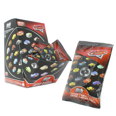 SOBRES 3D CARS MINI RACERS
